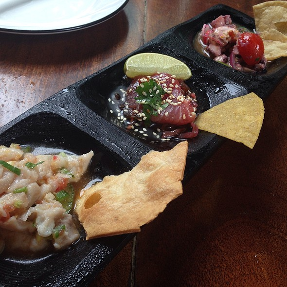 Trio-Tasting Of Ceviches - Dos Caminos - Third Avenue, New York, NY