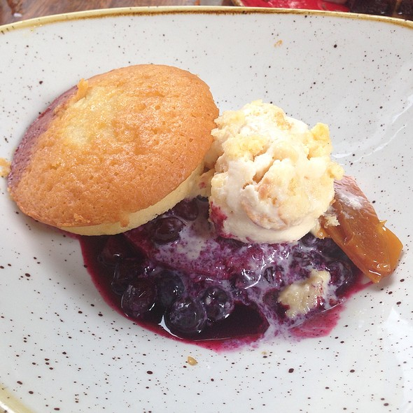 Market Blueberry Shortcake - Dos Caminos - Third Avenue, New York, NY