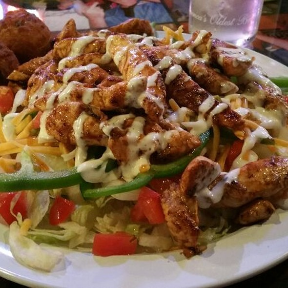 Cajun Chicken Salad @ Uncle Buck's Family Restaurants