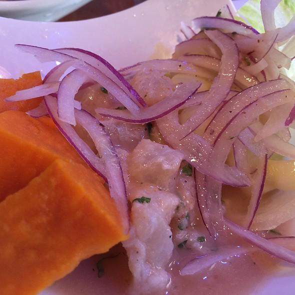Ceviche de Pescado @ Ceviche Arigato