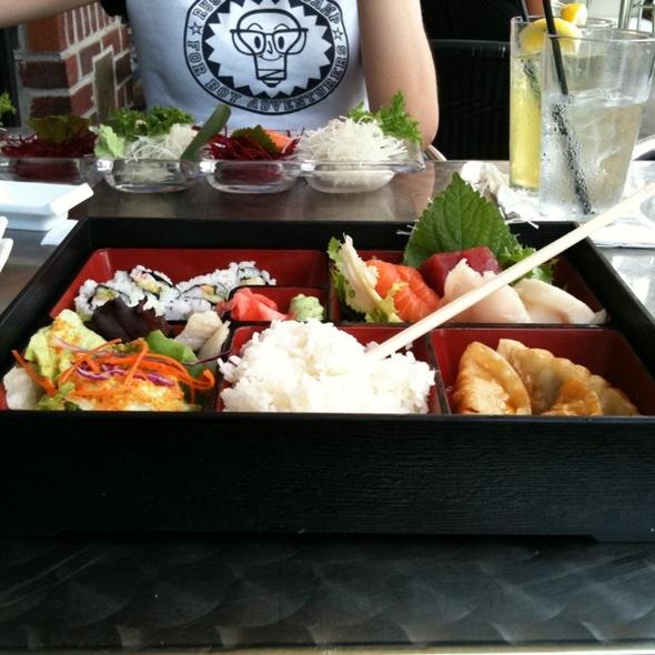 Sashmi Bento Box @ Seito Sushi Japanese Restaurant