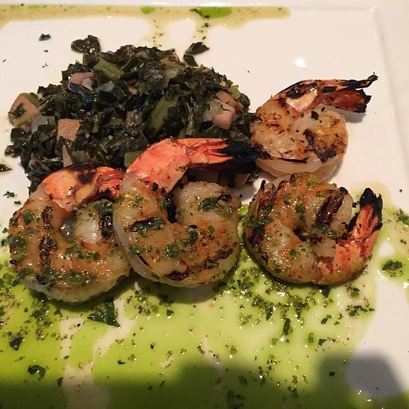 Pesto Shrimp - Trellises Restaurant @ Hyatt Regency Jacksonville Riverfront, Jacksonville, FL