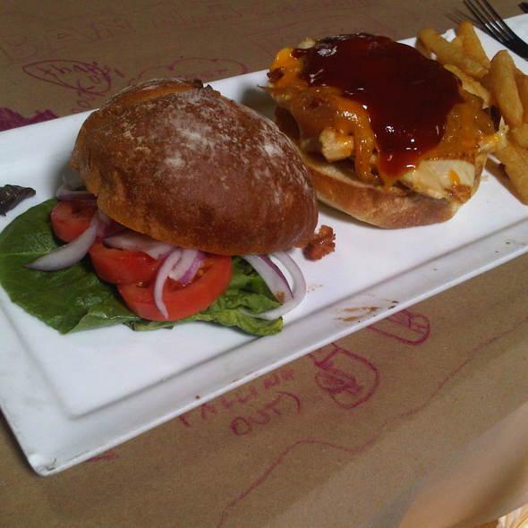 Grilled Chicken Sandwich @ The Urban Saloon