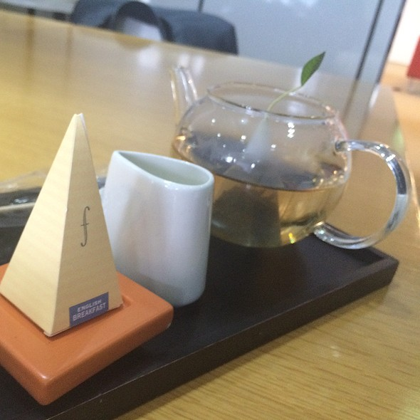 Fancy Tea @ In My Office