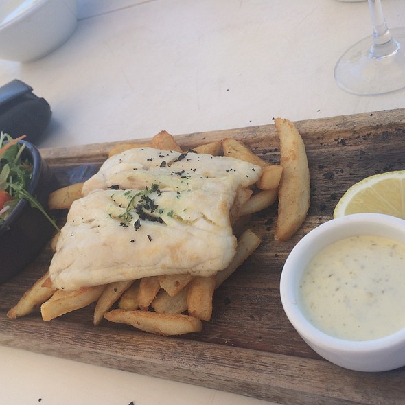 Fish and Chips @ The Mangrove Resort