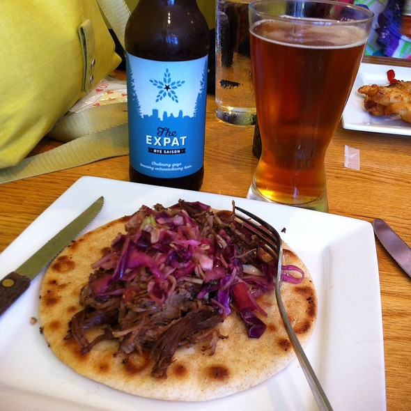 Lamb And Slaw On Pita @ Rainbow Cafe