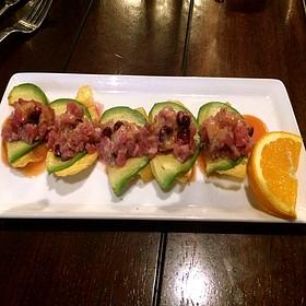 Seared Ahi Tuna Appetizer - EdgeWild Restaurant & Winery