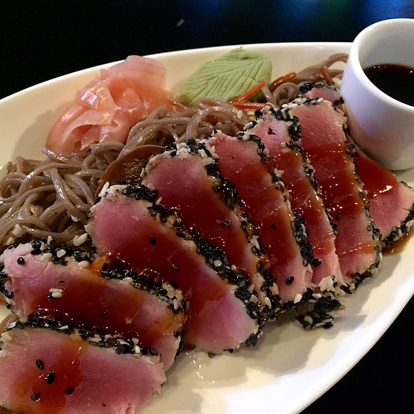 Ahi Tuna Sashimi @ One80 Sportsgrill & Bar