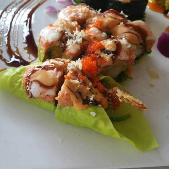 Tiger Lilly Roll @ Imperial Koi Asian Bistro & Sushi Bar