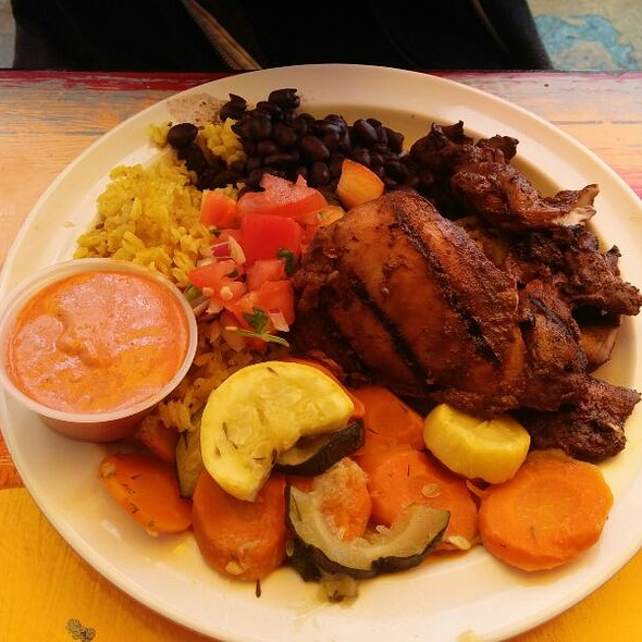 Jerk Chicken At Primo Patio Cafe