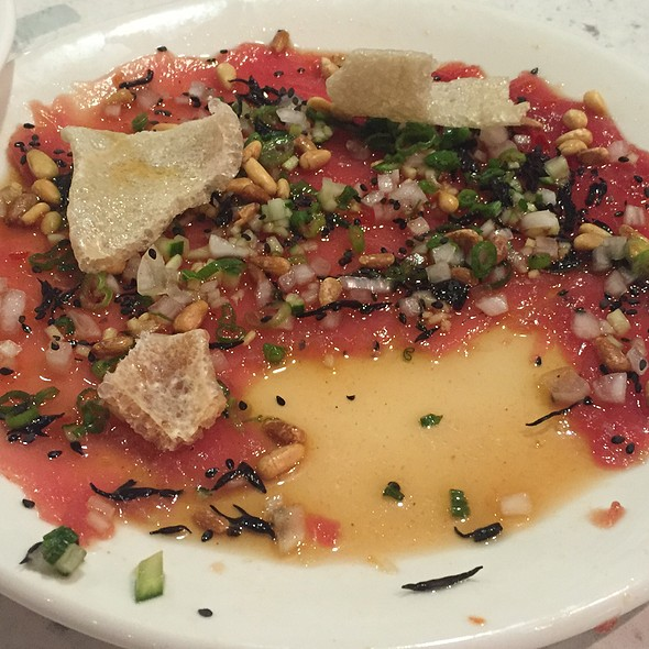 Yellowfin Carpaccio