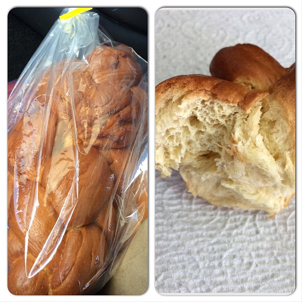 Challah Bread @ This Is It Bakery & Deli