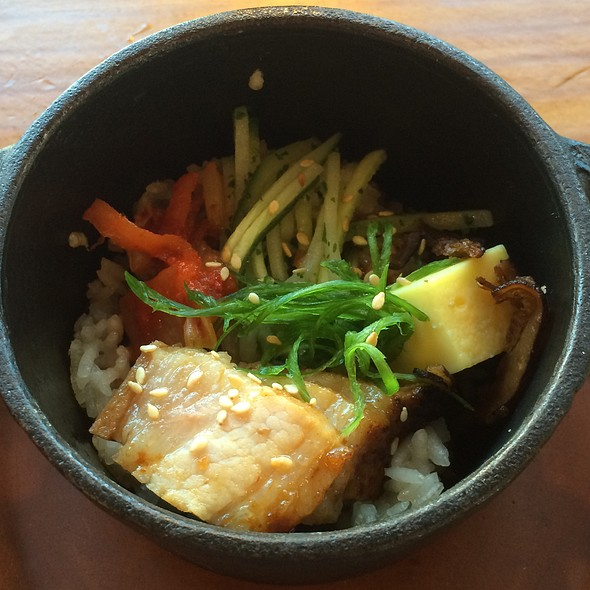 Korean Pork Belly Bibimbap