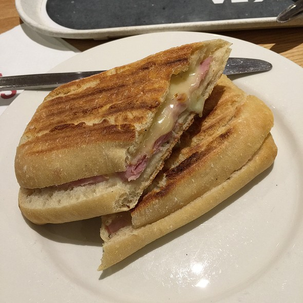Ham And Cheese Panini at Costa Coffee