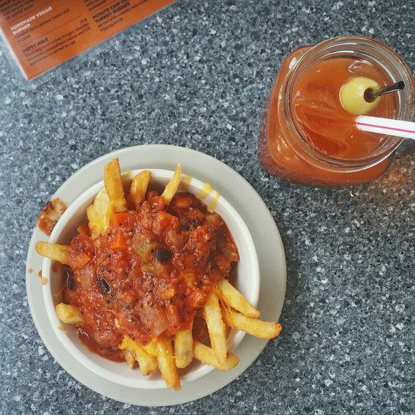 Chili Fries @ Daily Eats Restaurant