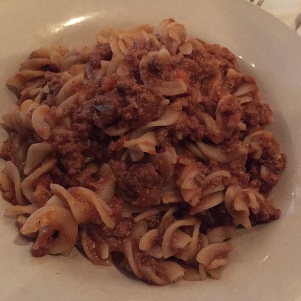 Gluten-Free Spaghetti Bolognese - Sapori Trattoria, Chicago, IL