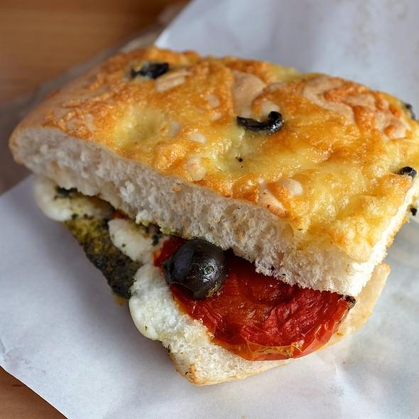 Roasted Tomato & Mozzarella Panini @ Starbucks Coffee - The Nine Neighborhood Center