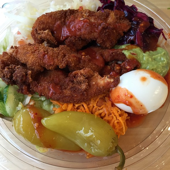 Chicken Schnitzel Salad @ Chick