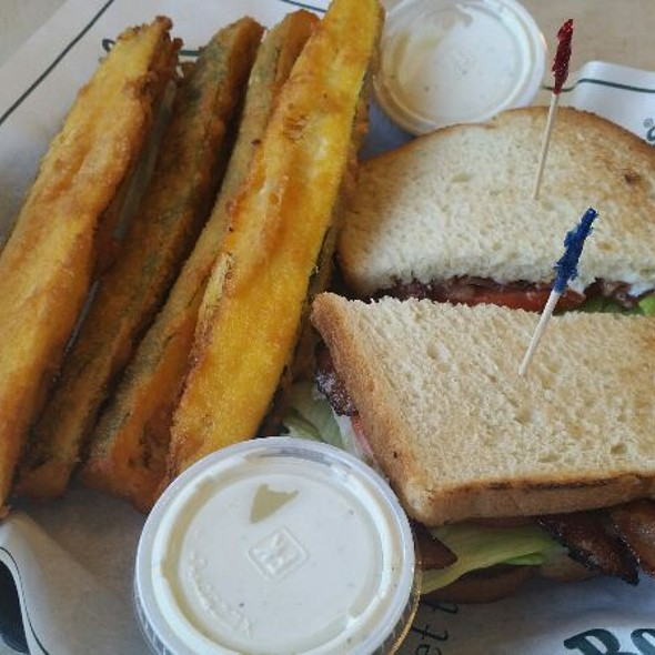 Fried Zucchini And Blt @ Farmer Boys