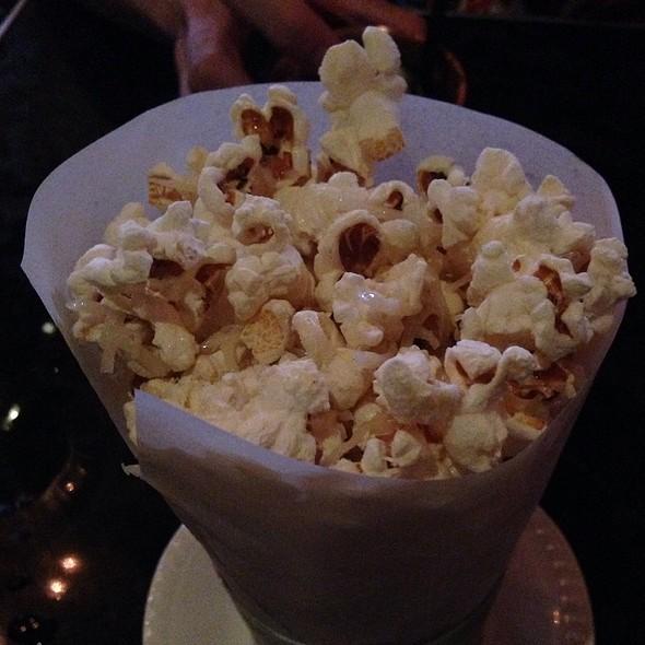 Truffle Oil Parmesan Popcorn