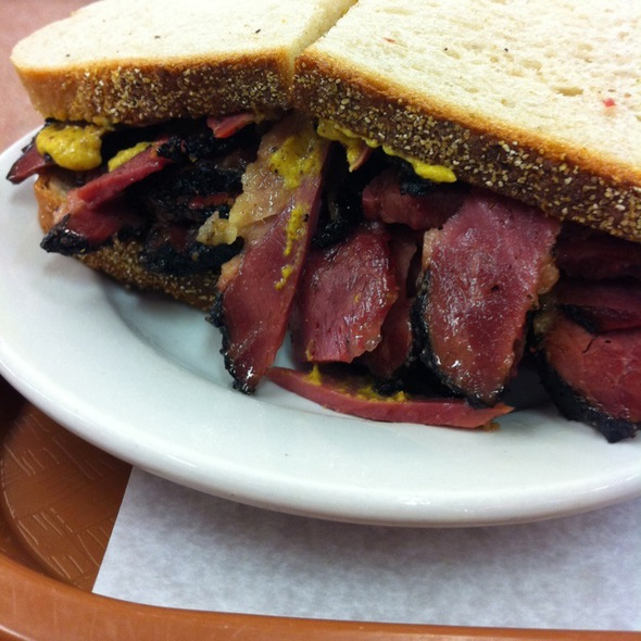 Pastrami Sandwich on Rye @ Katz's Delicatessen Inc