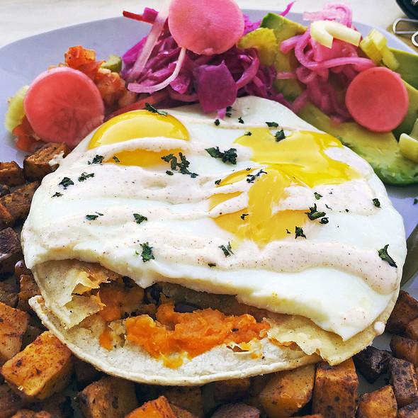 Breakfast Quesadilla @ Hello Darling