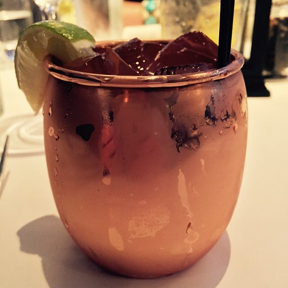 Perusian Mule - Parkers' Restaurant & Bar, Downers Grove, IL