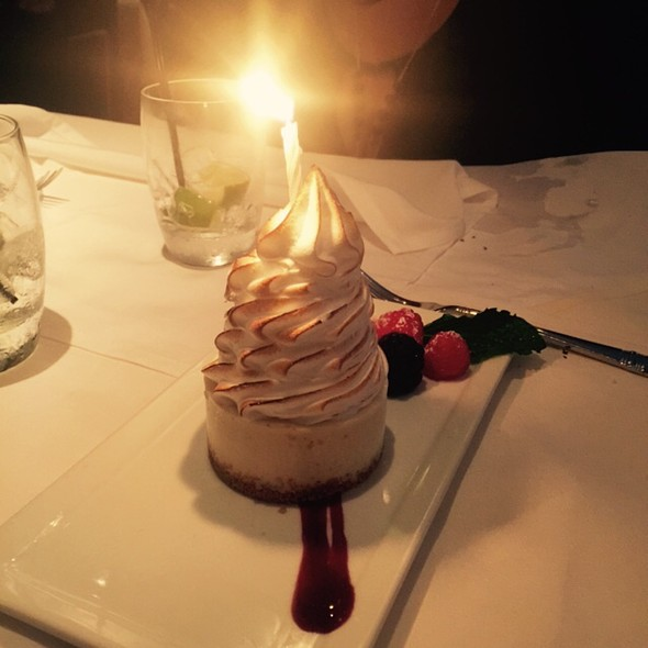Key Lime Pie @ Parkers' Restaurant & Bar
