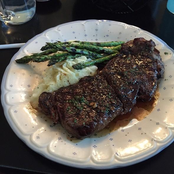 Rib Eye Steak  @ Misson Bistro