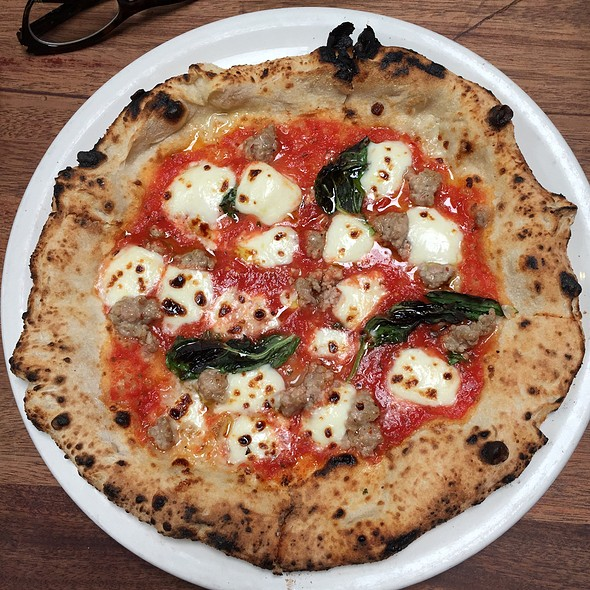 Margherita Pizza @ Boot & Shoe Service