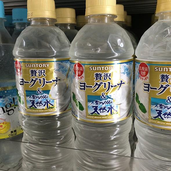 Yogurt Flavored Water @ Family Mart