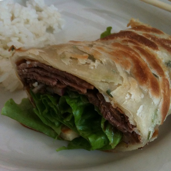 Roast Beef Roll @ Rice Bowl