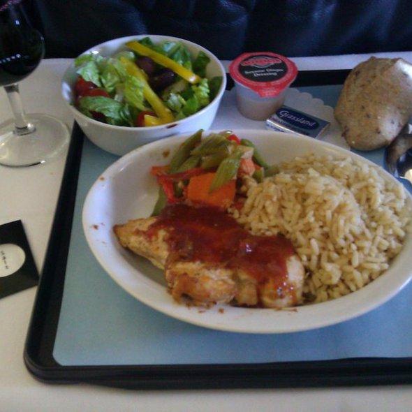 Thai Chicken @ United Airlines