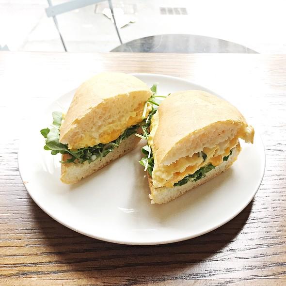 egg sandwich @ Foundation Cafe