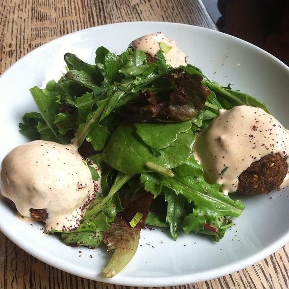Stuffed Falafel Salad - Dunya, San Francisco, CA
