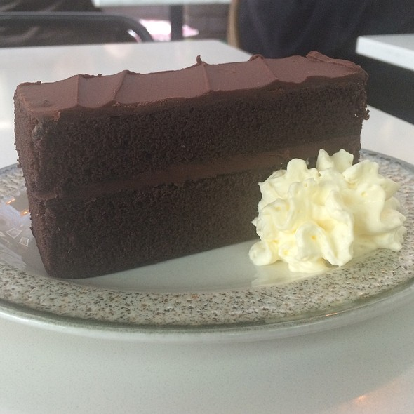 Chocolate Cake @ G & B Cafr