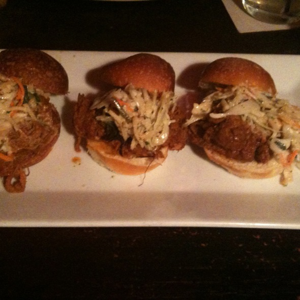 Pork Bbq Sliders @ Good Dog Bar and Restaurant