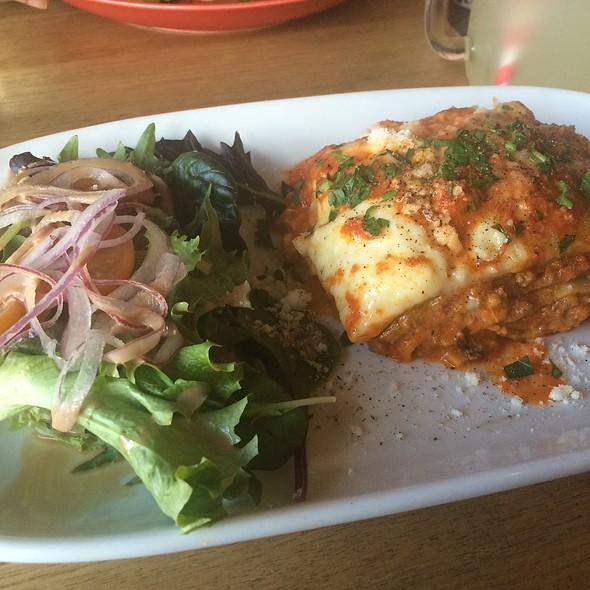 Lasagna Di Casa @ Caffe Rosso