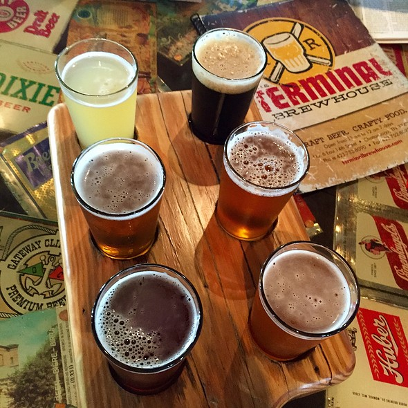 Beer Flight @ The Terminal Brewhouse