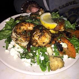 Shrimp And Scallops - 4th Base Restaurant, Milwaukee, WI