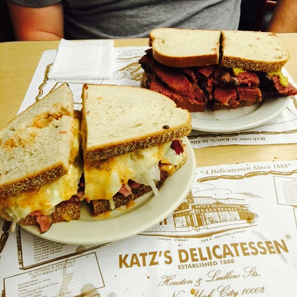 Pastrami & Reuben Sandwich