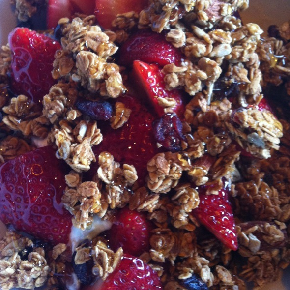 Honey Yogurt Granola @ Donnybrook
