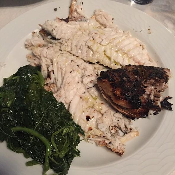 Grilled Sea Bream @ Poseidonia