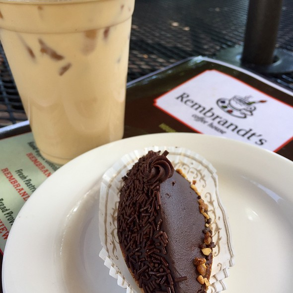 Pastry And Coffee @ Rembrandt's Coffee House