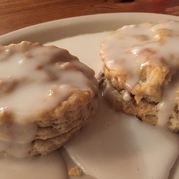 Iced Cinnamon Pecan Biscuit @ Maple Street Biscuit Company