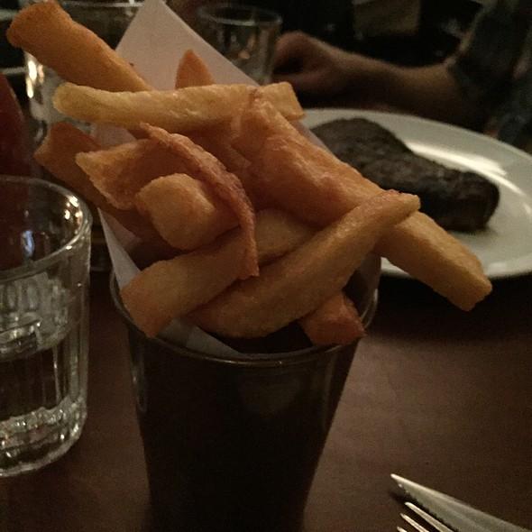 Triple Fried Potatoes