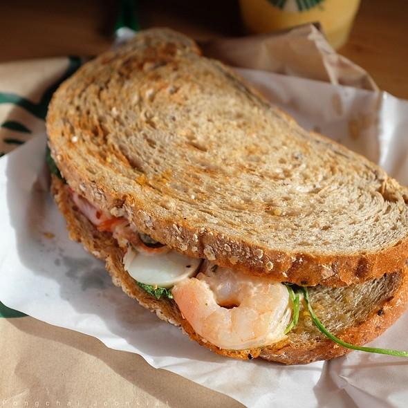 Shrimp Salad Sandwich @ Starbucks Coffee - The Nine Neighborhood Center