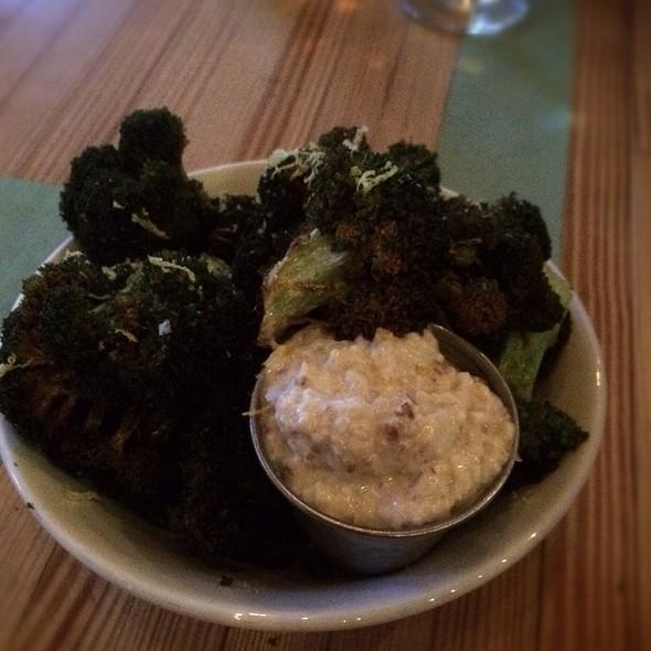 . Fried Broccoli . @ Pinewood Social