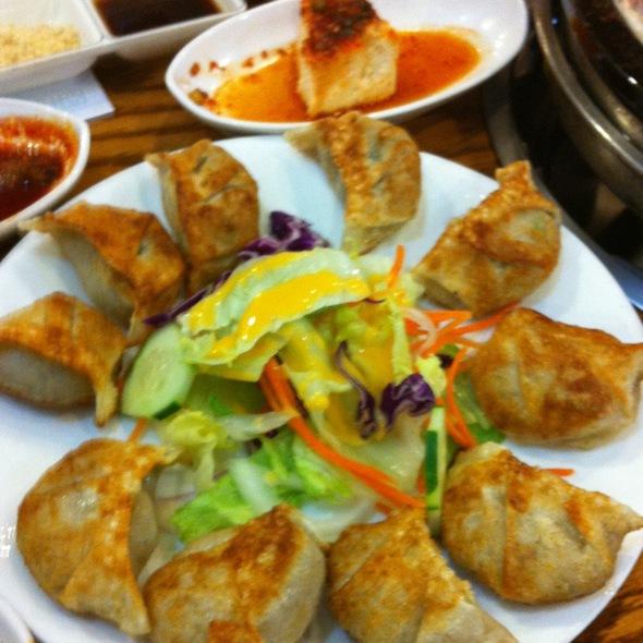 Fried Mandoo @ Hahm Ji Bach