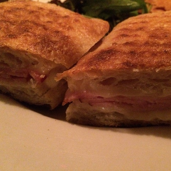 Ham And Cheddar Panini - The Red Lion Inn, Stockbridge, MA